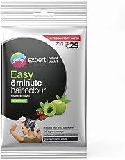 Godrej Expert Easy 5 Minute Hair Colour Sachet - Natural Black, 20ml