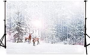 Waw 7x5fuß Mikrofaser Winter Hintergrund Fotografie Kamera