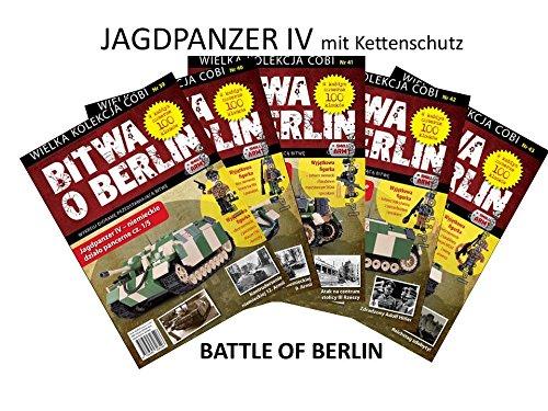 Preisvergleich Produktbild Cobi -SD.KFZ.162 Jagdpanzer IV L/70 mit Kettenschutz - Small Army World War II - WWII Tank Battle of Berlin 39, 40, 41, 42, 43
