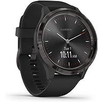 Garmin vívomove 3 - stylish hybrid smartwatch with analog pointers & OLED display, sports ...
