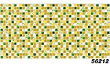1 PVC Dekorplatte Mosaic Wandverkleidung Platten Wand Paneel 95x48cm 56212