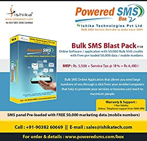 Bulk SMS Software: Amazon in: Software