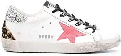 Golden Goose Luxury Fashion Donna GWF00102F00024910255 Bianco Pelle Sneakers   Ss21