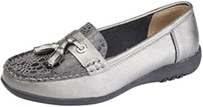 Boulevard Womens Leather Extra Wide EEE