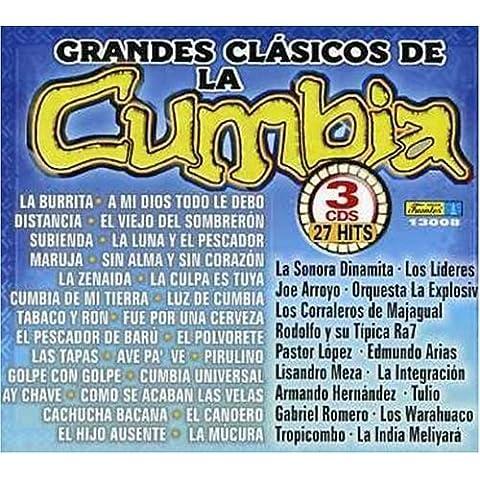 Grandes Clasicos De La Cumbia by Grandes Clasicos De La Cumbia