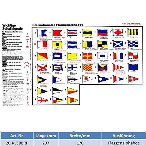Flaggensignale und Schallsignale 285 mm x 170 mm