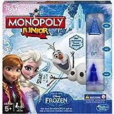 Hasbro B2247104 - Spiel Monopoly Junior Disney Die Eiskönigin Niederländische Version