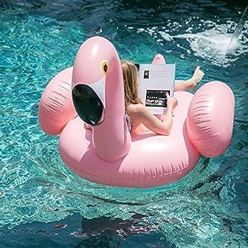 Riesiger Aufblasbar Flamingo Luftmatratze Aufblasbarer Flamingo Pool Floß Schwimmtier Schwimminsel Schwimmreifen Pool Spielzeug Wasserspielzeug Luftmatratze Wasser Strand Party Kinder Erwachsene 6