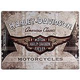 Nostalgic-Art 23144 Harley-Davidson - American Classic Logo, Blechschild 30x40 cm