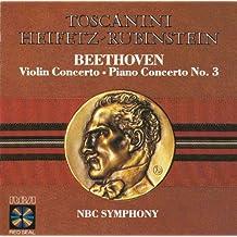 Beethoven - Violin Concerto. Piano Concerto No. 3