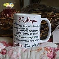 Kaffeebecher ~ Tasse - Kollegin ~ DU... ~ Weihnachten Geschenk