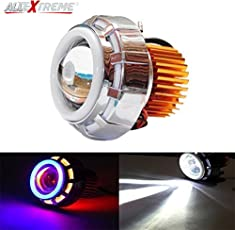 AllExtreme LED Angel's Eye Ring Projector Lamp (Red and Blue)