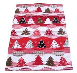 weihnachtliches geschirrhandtuch geschirrtuch material halbleinen bedruckt. Black Bedroom Furniture Sets. Home Design Ideas