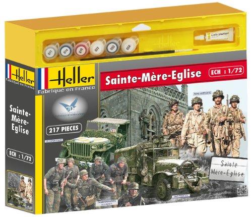 Heller 53004 - Modellbausatz Sainte Mere Eglise