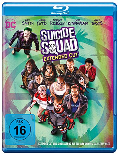 Suicide Squad (Kinofassung & Extended Cut) [Alemania] [Blu-ray]