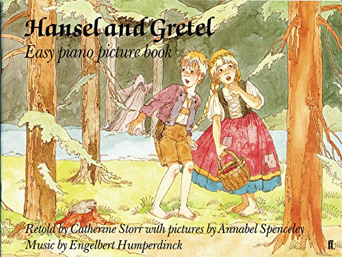 Hansel and Gretel: Easy Piano Picture Book