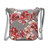 SIGNARE tapiz bolso de la honda bandolera cartera (Orquídea)