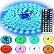 Rxment Ruban � LED Lumineux , 10m 5050 RGB 300LEDs kit Complet Souple Color�, y compris T�l�commande 44 touches, Bo�tier de Commande RGB, Alimentation 24V 3A, Id�al pour une Utilisation Domestique Comme la D�coration d'une Pi�ce
