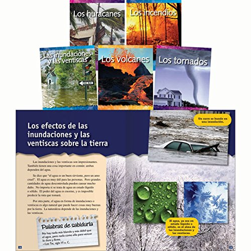 Forces in Nature Spanish Set: 5 Titles (Teacher Created Materials Library Set)