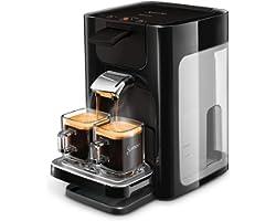 Philips Senseo Quadrante Koffiepadapparaat - Zet 2 kopjes koffie - Koffieboosttechnologie - Instelbare lekbak - Verwijderbaar