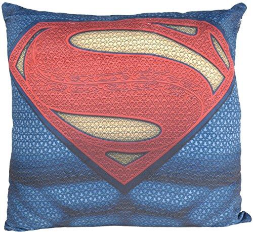 Batman Vs. Superman 0122164cuscino, 100% poliestere, nero, 40x 40x 3,5cm