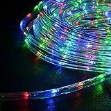 Corda luce interno/esterno con lampadine LED multicolore, 6m, 1 Set(S)
