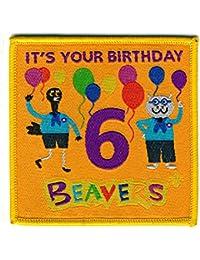 Beaver Scout Happy 6th Birthday Fun Badge