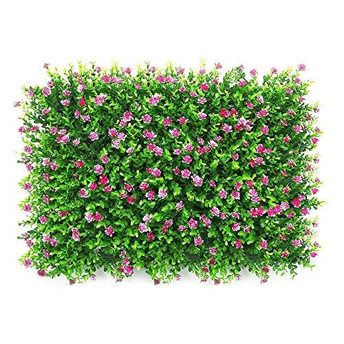 Aolvo Prato Sintetico | per Giardino e Balcone | Drenante Colore e Design Naturale | 60x40 cm