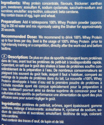 Ironmaxx 100% Whey Protein Banane-Yoghurt
