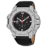 Snyper Mens 43mm Alligator Leather Band Steel Case Automatic Watch 10.110.700