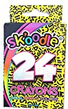 #3: Sk'Oodle Kids Activity Sets Colour Crayons For Drawing (24 Colours) ( Educational Art Kit ) (Pack Of 4)