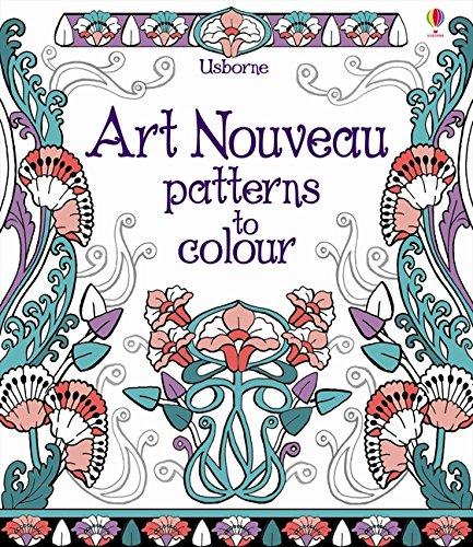 Preisvergleich Produktbild Art Nouveau Patterns to Colour