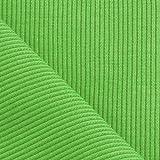 Strickbund Bündchenstoff Ripp Schlauchware 100 cm breit