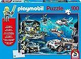 Schmidt Spiele Puzzle 56272Playmobil, Top Agents, 100Piezas