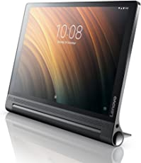 Lenovo Yoga Tab 3 Plus 25,5 cm (10,1 Zoll QHD IPS Touch) Convertible Tablet-PC (Qualcomm Snapdragon 652, 3 GB RAM, 32 GB eMMC, Wi-Fi, Android 6.0) schwarz