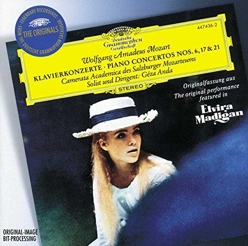 Mozart : Concertos pour piano n° 6, 17 et 21