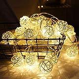BabyIn 20 LED de Navidad Copper marroquí Festival de luces de hadas Ambiance iluminación para Dormitorio Vida, Boda, Navidad, Fiesta, Inicio