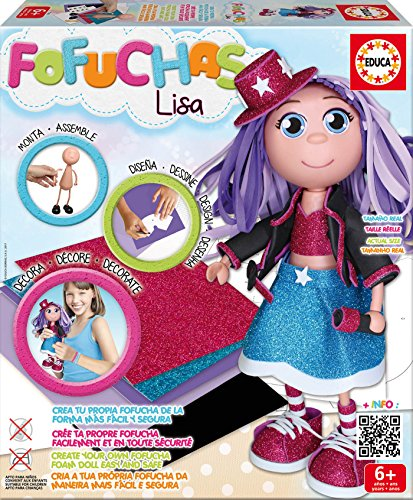 Educa Borrás - Fofucha Lisa, Pop Star (17262)