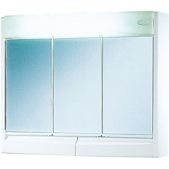 Jokey Saphir armoire à glace - Largeur 60 cm - blanc - avec ...