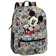 Disney Mickey Comic Set de Sac Scolaire, 42 cm, Multicolore 32323A1