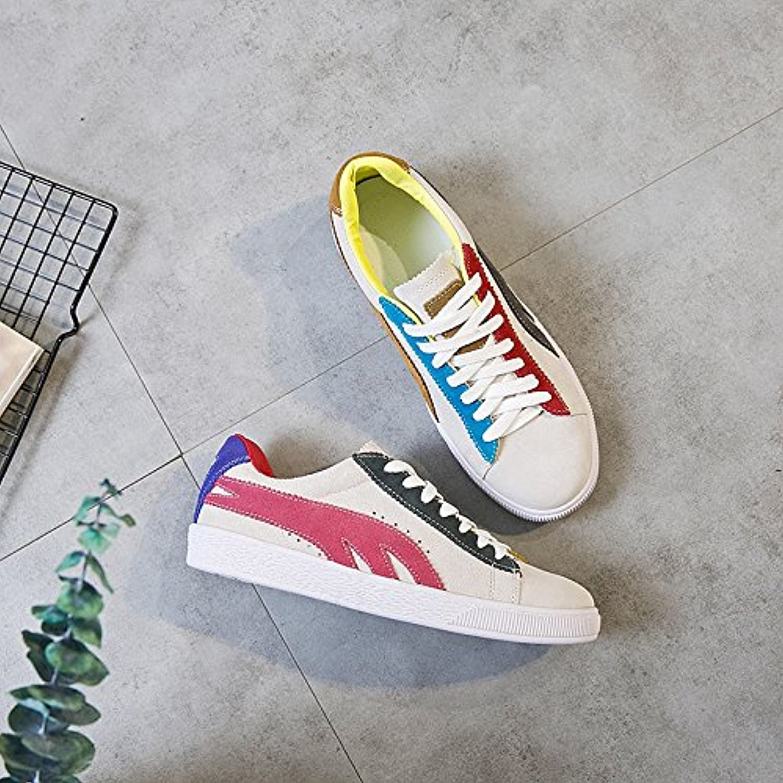 GUNAINDMXShoes/Shoes/Shoes/Shoes/All-Match/Spring/Winter/Running Shoes,Beige,Thirty-Eight  Venta de calzado deportivo de moda en línea
