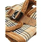 "UrbanPup Luxury Fur Lined Brown Tartan Harness (X-Large - Dog Chest Circumference: 21"" / 53cm) 6"
