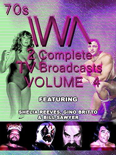 1970s IWA Wrestling 2 TV Broadcasts Vol 4 [OV]