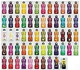 Bolero Getränkepulver Mixbox mit ALLEN 58 Sorten Einführungspreis + Sportnahrung Wehle Shaker 750ml I zuckerfreies Getränkepulver mit Stevia gesüßt I Mixbox zum Testen aller...
