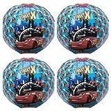 4 Stück Disney Cars Strandball Schwimmball Wasserball Mitgebsel