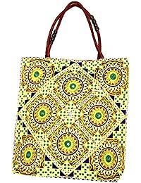 Shubhangi Women's Shoulder Bag (Jaipuri Embridered Handicraft Traditional Handbags,stylish Traditional Bag,Multi-Coloured... - B079KRLGP8