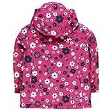 Gelert Kids Girls Infant Printed Insulated Jacket Chin Guard