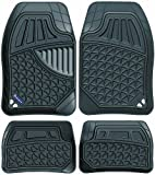 #4: Michelin 92200 Style 903 Universal Floor Mat for Car (Set of 5, Black)