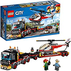 Lego City Great Vehicles Trasportatore Carichi Pesanti, Multicolore, 35.4 x 19.1 x 9.1 cm 60183
