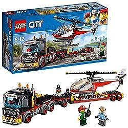 Lego City 60183 - Starke Fahrzeuge Schwerlasttransporter, Beliebtes Kinderspielzeug